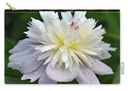 Beauty Can't Be Dampened - Festiva Maxima Double Peony Carry-all Pouch