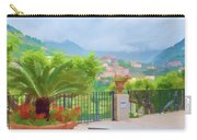 Beauty In Capri Carry-all Pouch