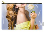 Beauty Of Romance Floating In The Summer Breeze Carry-all Pouch