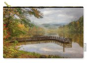 Beauty Of The Lake Oil Painting  Carry-all Pouch