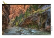 Beauty Of The Narrows Carry-all Pouch