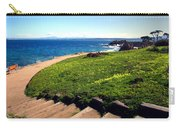 Beauty Of The Pacific Grove Shoreline Two Carry-all Pouch