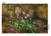 Beauty On An Old Stone Wall Carry-all Pouch