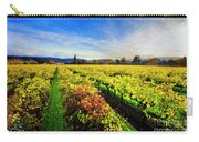 Beauty Over The Vineyard Carry-all Pouch