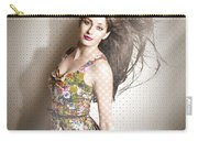 Beauty Salon Pinup Carry-all Pouch