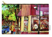 Beautys Luncheonette Montreal Diner Carry-all Pouch