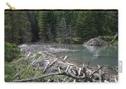 Beaver Dam And Lodge Carry-all Pouch