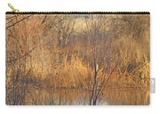 Beaver Dam At Sunset In Colorado            Carry-all Pouch