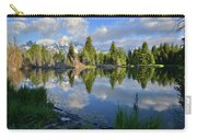 Beaver Dam Reflection In Grand Teton Np Carry-all Pouch