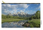 Beaver Lodge And Tetons Carry-all Pouch