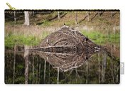 Beaver Lodge Reflection Carry-all Pouch