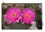 Beavertail Cactus Flowers Carry-all Pouch