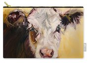 Bed Head Cow Carry-all Pouch