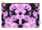 Bed Of Pink Dahlias Carry-all Pouch