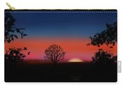 Bed Time Sunny Carry-all Pouch
