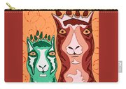 Bedazzled Llamas Carry-all Pouch