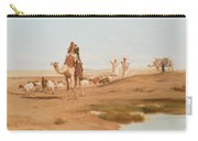 Bedouin In The Desert Carry-all Pouch