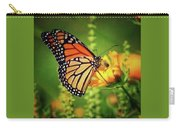 Bee And Butterfly Carry-all Pouch