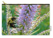 Bee And Its Lavender Delight Carry-all Pouch
