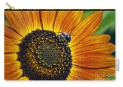 Bee And Sunflower. Carry-all Pouch
