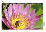 Bee And The Lily Carry-all Pouch