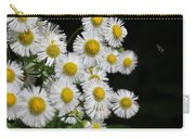 Bee And Wildflower  Carry-all Pouch