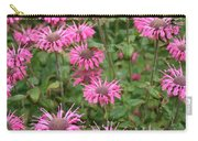 Bee Balm Beauties Carry-all Pouch