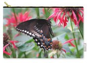 Bee Balm Butterfly Carry-all Pouch