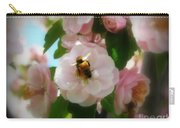 Bee Blossoms Carry-all Pouch