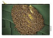 Bee Cluster Carry-all Pouch