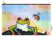 Bee Hoppy Carry-all Pouch