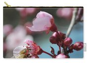Bee In A Blossom Carry-all Pouch
