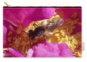 Bee In The Rugosa Carry-all Pouch