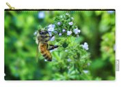 Bee Is In The Oregano Carry-all Pouch