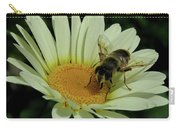 Bee On A Daisy Carry-all Pouch
