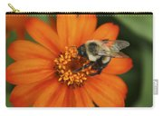 Bee On Aster Carry-all Pouch