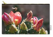 Bee On Cactus In Croatia Carry-all Pouch