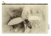 Bee On Citrus Flower Carry-all Pouch