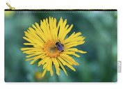 Bee On Curlyhead Goldenweed Carry-all Pouch