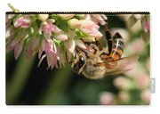 Bee On Flower 1 Carry-all Pouch