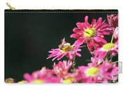 Bee On Flower Spring Scene Carry-all Pouch