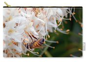 Bee On Flowers 1 Carry-all Pouch