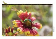 Bee On Gaillardia Carry-all Pouch