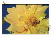 Bee On Pretty Dahlia By Kaye Menner Carry-all Pouch