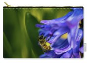 Bee On The Hyacinth Carry-all Pouch