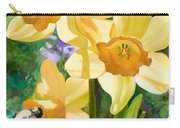 Bee Open By Marilyn Nolan-johnson Carry-all Pouch