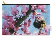Bee To The Blossom Carry-all Pouch