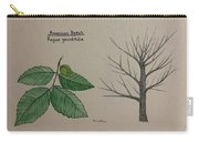 Beech Tree Id Carry-all Pouch