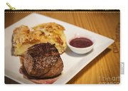 Beef Steak With Potato And Cheese Bake Carry-all Pouch