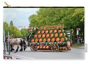 Beer Barrels On Cart Carry-all Pouch
